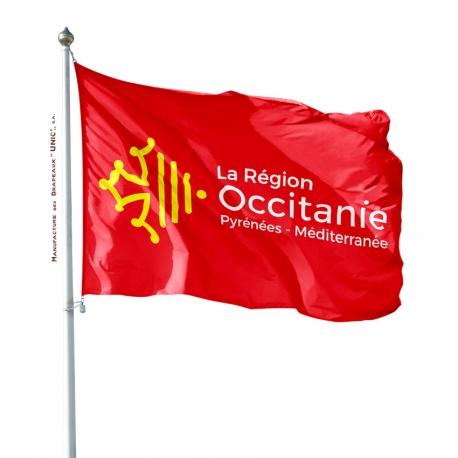 Pavillon Occitanie drapeau region Unic