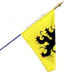 Drapeau Flandre tous les drapeaux provinces françaises Unic