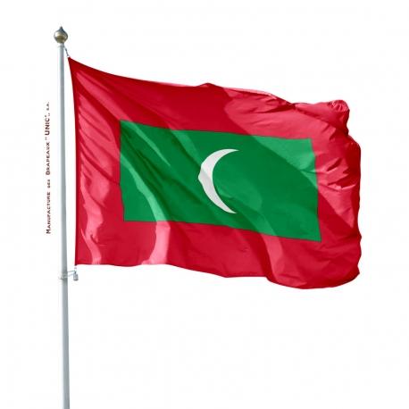 Pavillon Maldives dans drapeaux du monde Unic