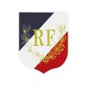 Ecusson porte drapeaux n°2 Palmes + RF