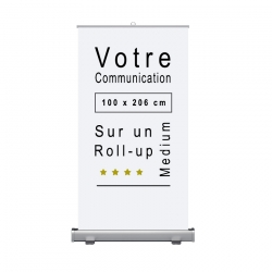 Roll-up Medium support de communication