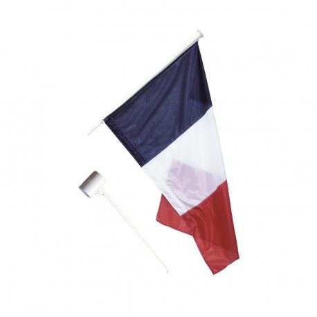 Kit 1 Drapeau France anti-enroulement