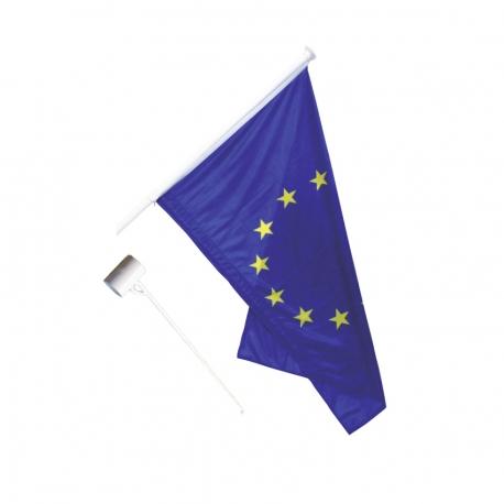 Kit 1 Drapeau Europe anti-enroulement