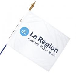Drapeau Auvergne Rhone Alpes drapeaux regionaux Unic