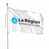 Pavillon Auvergne Rhone Alpes drapeau region Unic