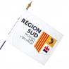 Drapeau Région Sud Provence alpes Côte d'Azur PACA drapeaux regionaux Unic