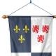 Oriflamme Picardie province française Drapeaux Unic