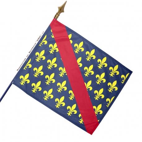 Drapeau Bourbonnais drapeaux regionaux Unic