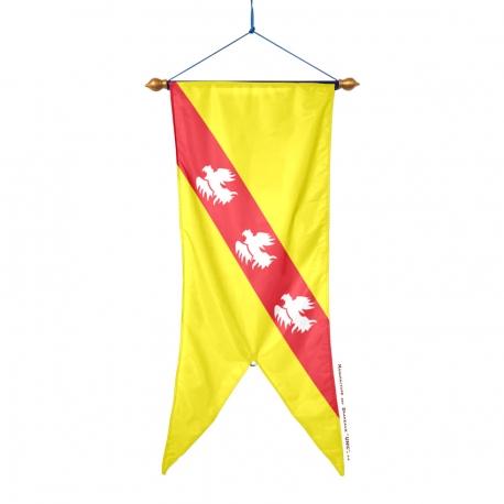 Oriflamme Lorraine province française Drapeaux Unic