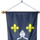 Oriflamme Saintonge province française Drapeaux Unic