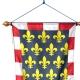 Oriflamme Touraine province française Drapeaux Unic