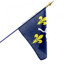 Drapeau Saintonge dans drapeaux des provinces françaises Unic