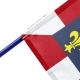 Drapeau Touraine dans drapeaux provinces France Unic