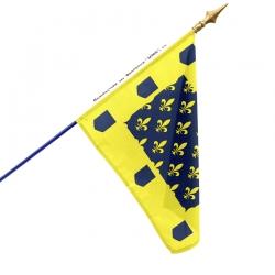 Drapeau Vivarais drapeaux provinces Drapeaux Unic