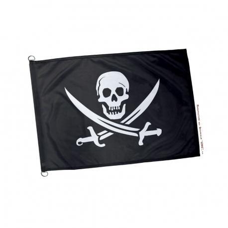Pavillon pirate noir et blanc Drapeaux Unic