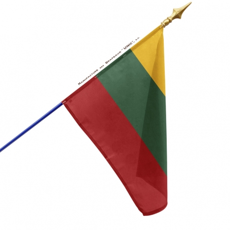 Drapeau Lituanie drapeaux des pays Unic
