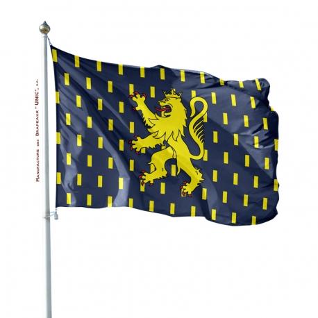 Pavillon Franche Comté Unic drapeau region province
