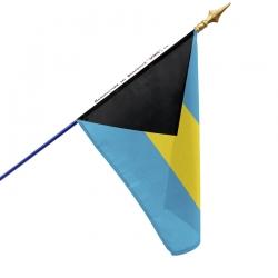 Drapeau Bahamas drapeau du monde Unic