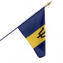 Drapeau Barbade