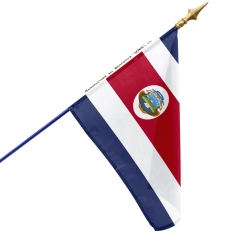 Drapeau Costa Rica Unic drapeaux pays