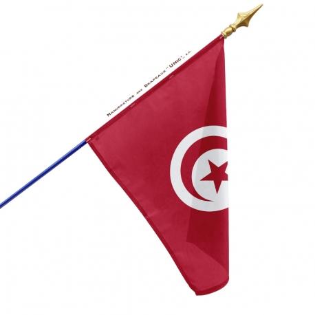 Drapeau Tunisie drapeaux pays d'Afrique Unic
