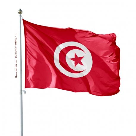 Pavillon Tunisie drapeaux des pays Unic