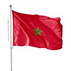 Pavillon Maroc drapeau du monde Unic