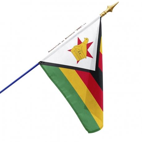 Drapeau Zimbabwe drapeaux des pays Unic
