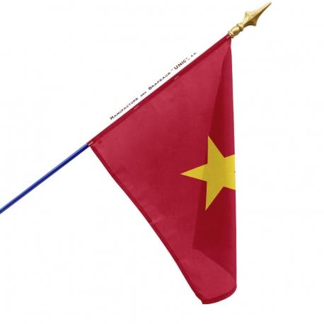 Drapeau Vietnam dans drapeaux des pays d'Asie