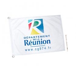 Pavillon département La Réunion