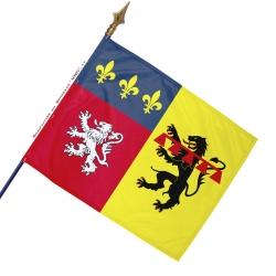 Drapeau Rhône historique