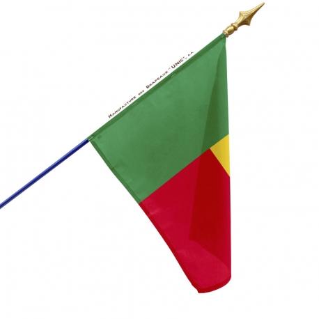 Drapeau Benin drapeau du monde Unic