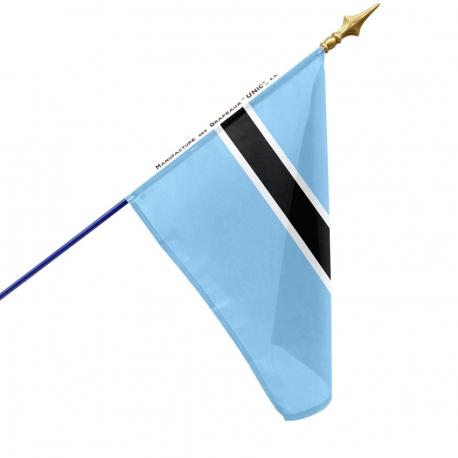 Drapeau Botswana drapeau du monde Unic
