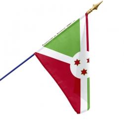 Drapeau Burundi Unic drapeau du monde