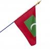 Drapeau Maldives dans drapeaux des pays Unic