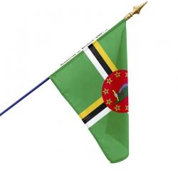 Drapeau Dominique tous les drapeaux Unic
