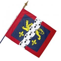 Drapeau Mayenne historique