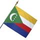 Drapeau Comores drapeau du monde Unic