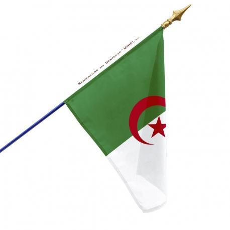 Drapeau Algerie drapeau du monde Unic