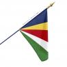 Drapeau Seychelles dans drapeaux pays d'Afrique