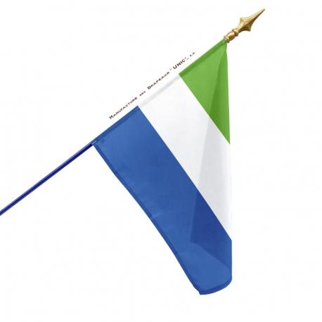 Drapeau Sierra Leone dans drapeaux des pays d'Afrique