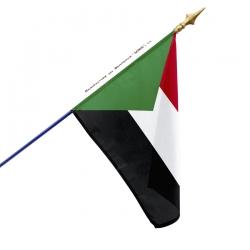 Drapeau Soudan dans drapeaux des pays d'Afrique