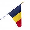 Drapeau Tchad dans drapeaux des Pays d'Afrique