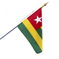 Drapeau Togo dans drapeaux des pays d'Afrique Unic