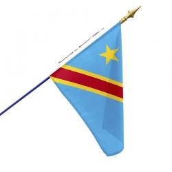 Drapeau RDC Congo tous les drapeaux Unic