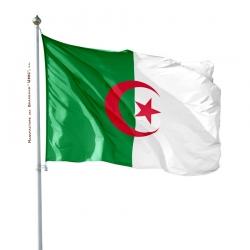Pavillon Algerie drapeau pays Unic