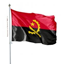 Pavillon Angola drapeau pays Unic