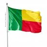 Pavillon Benin drapeau pays Unic