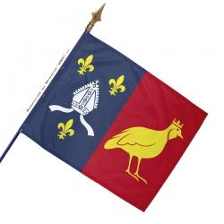 Drapeau Charente-Maritime historique
