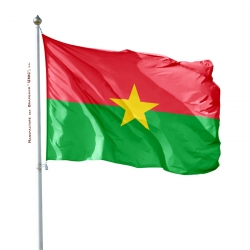 Pavillon Burkina Faso drapeau du monde Unic